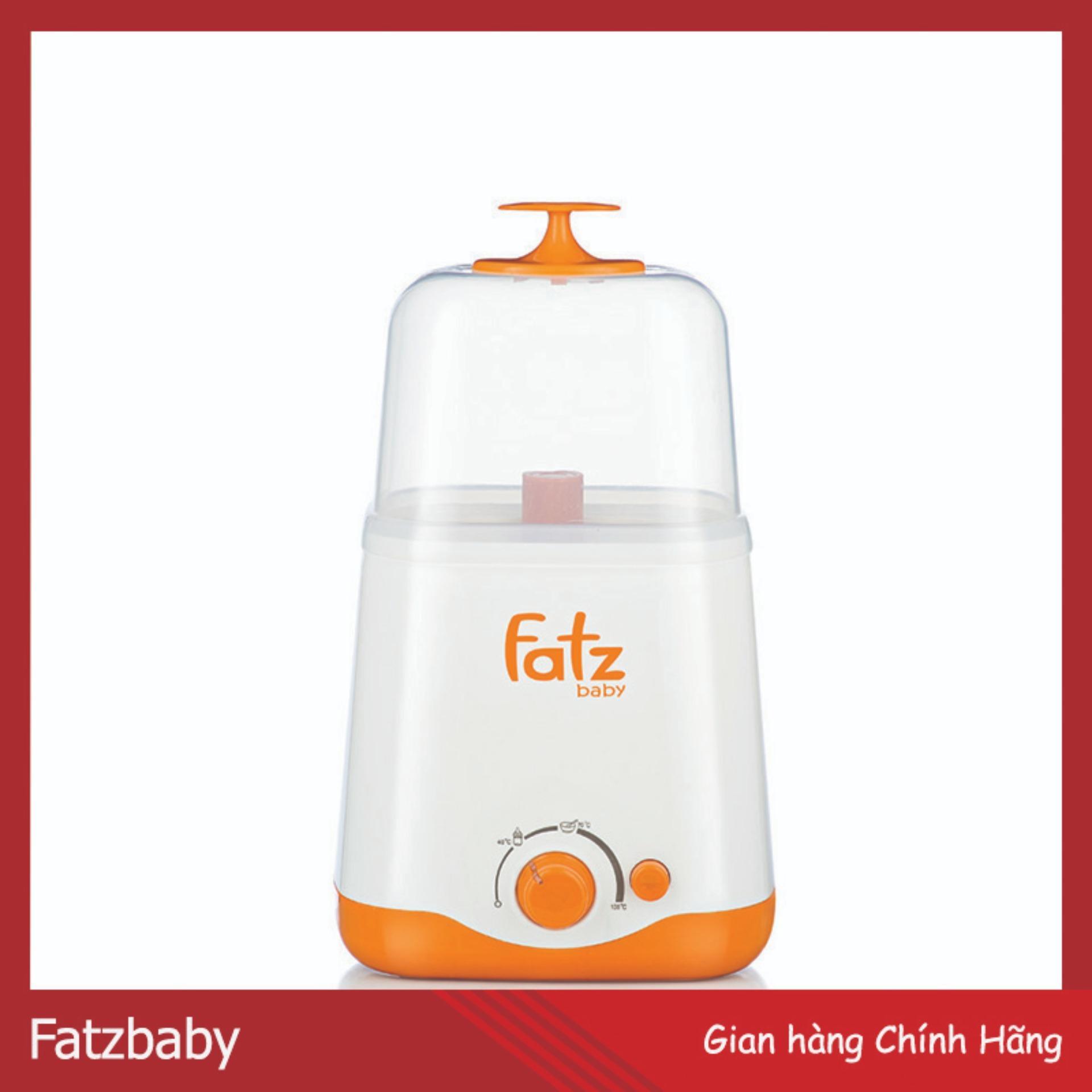 Máy Hâm, Tiệt Trùng 2 Bình Sữa Công Nghệ Teflon Chống Cặn Và Chập Điện Fatz (Phân Phối Chính Hãng)