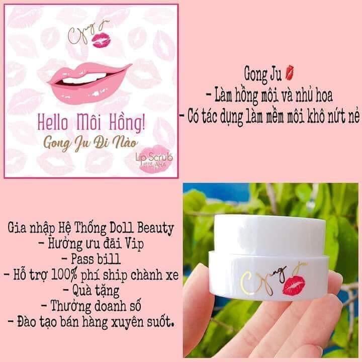 Ủ môi GONG JU-hàn quốc - làm hồng môi / nhũ hoa nhập khẩu