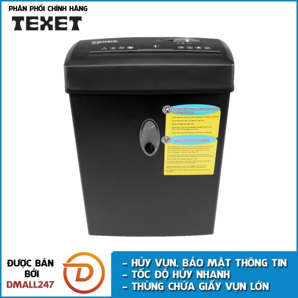 Mua Máy hủy giấy 12L cao cấp TEXET CC612N