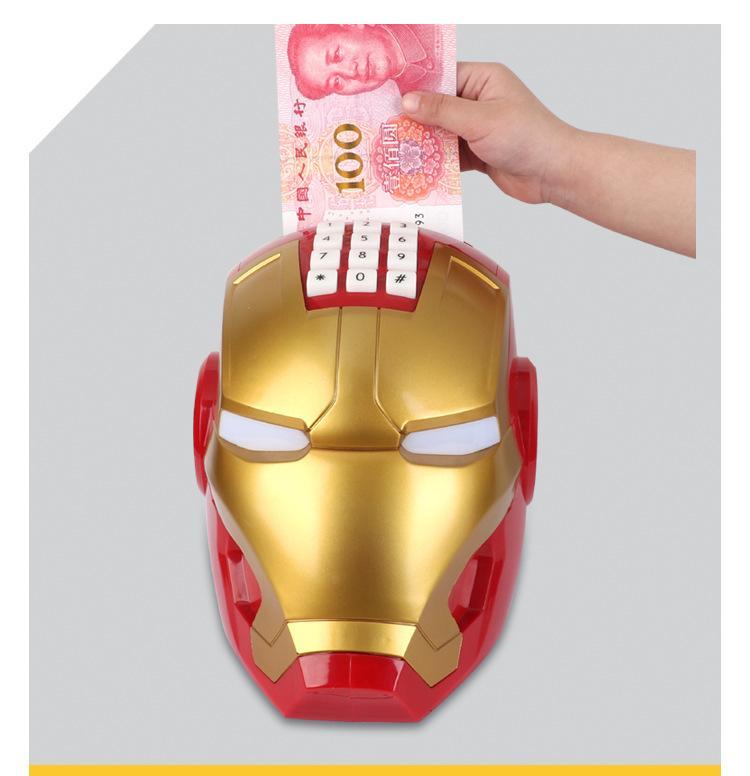 Két sắt mini hình Iron Man mini cho bé