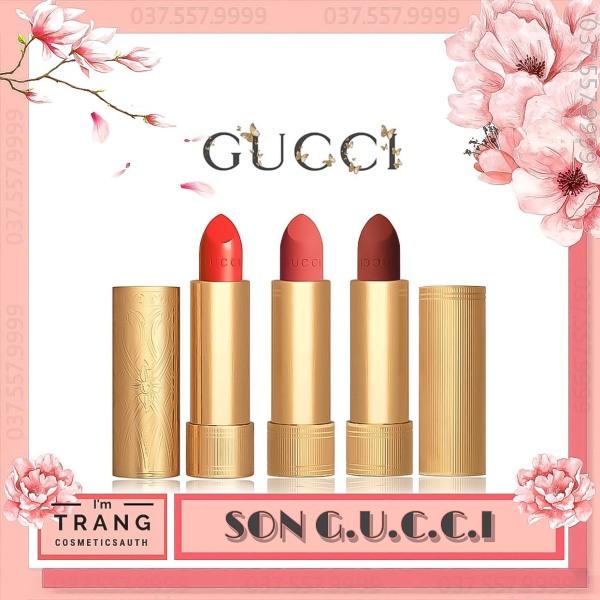 Son Gucci Rouge À Levres Lipstick, Son Gucci Matte Full Size Tặng kèm hộp quà cao cấp