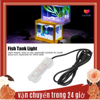 khuyến mãi lớn Đèn Trồng Cây Nước Bể Cá Nhỏ, Đèn LED Mềm Trang Trí Mini Bể Cá Để Bàn thumbnail