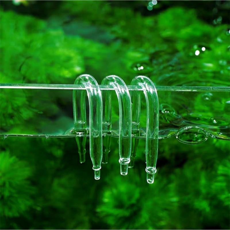 Chữ u chống gập ống dẫn khí co2 và oxi - Chống gập dây sủi giá siêu tốt giúp cho các đoạn ống dẫn khí vào các thiết bị trong bể cá không bị gập ống, lòng thòng