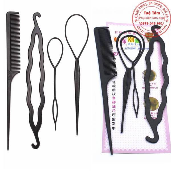 Bộ dụng cụ làm tóc đa năng 4 món mã TT9003 giá rẻ