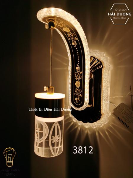 Đèn Led Treo Tường Hiện Đại Thả Thuỷ Tinh 24w Phong Cách Bắc Âu Vintage ( Ánh sáng vàng) - Energy Green Lighting