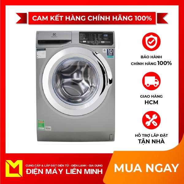 Bảng giá Máy giặt Electrolux Inverter 9 Kg EWF9025BQSA, Giặt nước nóng Khóa trẻ em Giặt hơi nước Hẹn giờ giặt xong Chế độ trì hoãn khởi động, Bảng điều khiển:Song ngữ Anh-Việt nút nhấn có màn hình hiển thị Điện máy Pico