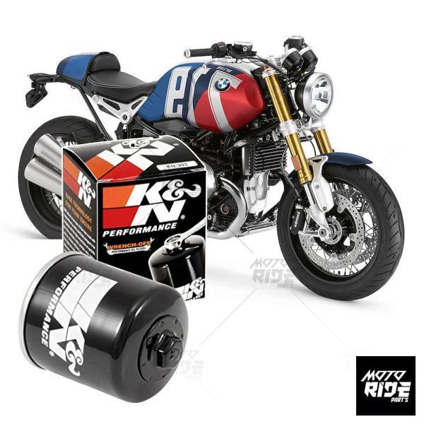 K&N KN-164 LỌC NHỚT CAO CẤP XE MOTO BMW DÒNG R-SERI