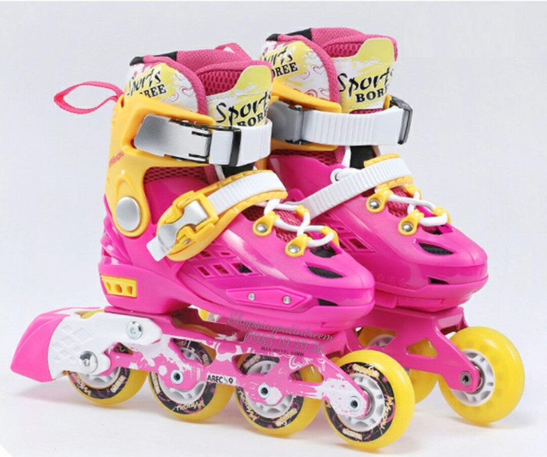 Mua Giày trượt patin trẻ em cao cấp bánh phát sáng/ shopgiaypatin