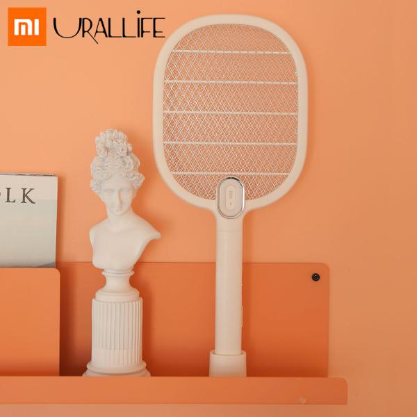Vợt muỗi Xiaomi mijia 3 có đèn LED 3 lớp lưới diệt muỗi bọ hiệu quả thiết kế đẹp gọn có thể sạc nhiều lần