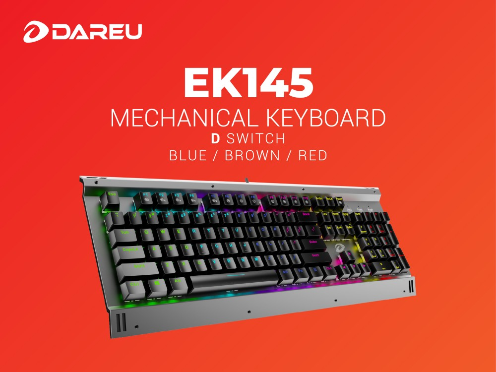 Bàn phím cơ Gaming DAREU EK145 Blue Switch | Lazada.vn
