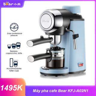 Bảo Hành 12 Tháng - Máy Pha Cà Phê Espresso Tự Động Bear KFJ-A02N1 - KFJ-A02N1 Coffee Machine Home Automatic Mini Coffee Pot American High-Pressure Tea Machine thumbnail