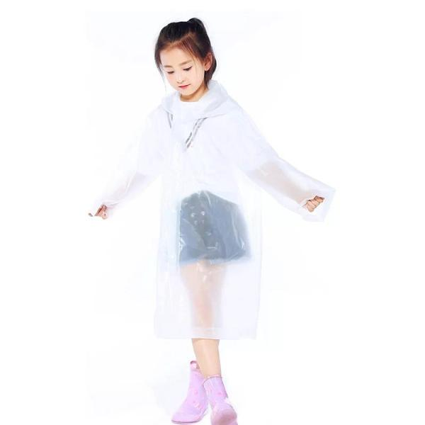 Giá bán Áo mưa trẻ em nhiều màu sắc đơn giản cho bé 4-10 tuổi – AM002