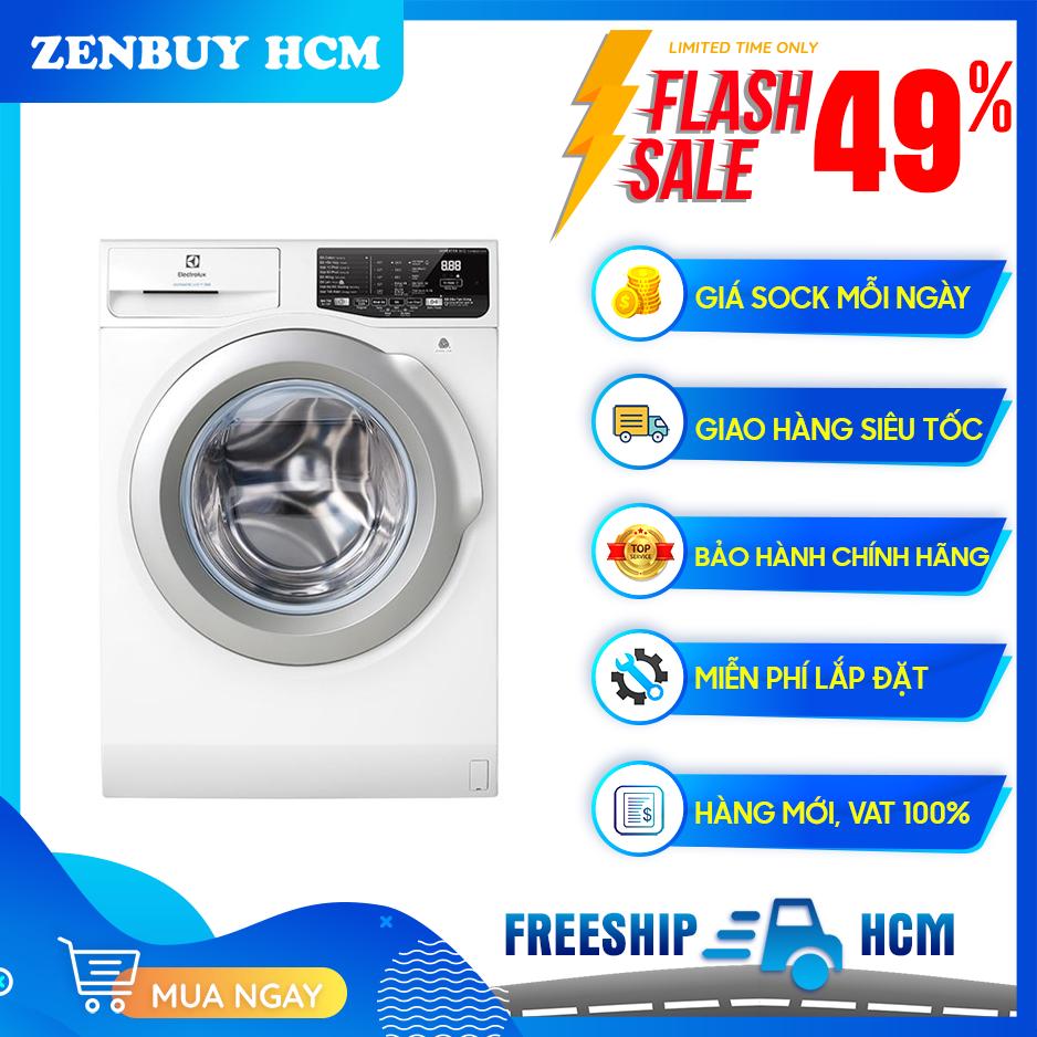 [Trả góp 0%]Máy giặt Electrolux 8.0 Kg EWF8025EQWA