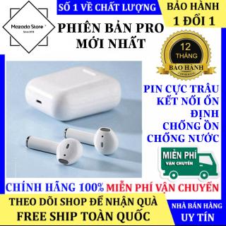 Tai Nghe Bluetooth i12 Bản Nút Cảm Ứng Cao Cấp Chip 5.0, Hỗ Trợ Mọi Dòng Máy, Pin Trâu, Tai Nghe Bluetooth Không Dây Mini, Tai Nghe Không Dây Giá Rẻ Tai Nghe Bluetooth Giá Rẻ thumbnail
