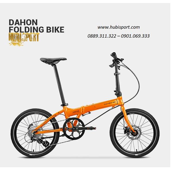 Phân phối Xe đạp gấp Dahon Launch D8 KBA083 - BẢN KHÓA ÂM bánh 20