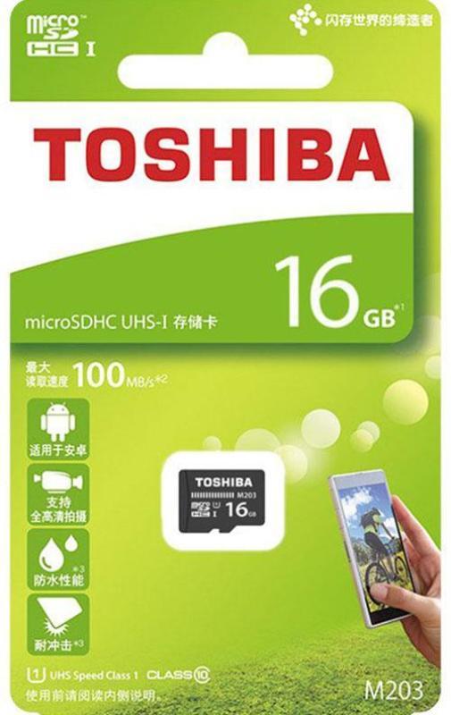 Thẻ nhớ micro SD toshiba 16GB M203 SDHC 100Mb/s class 10