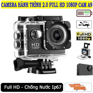 CAMERA HÀNH TRÌNH VIETMAP - Camera hành trình 4K, Camera Hành Trình 1080 Sports, Camera A9 Ultra HD hành trình xe máy Camera phượt thể thao, CHỐNG NƯỚC, Chống Rung, Camera hành trình tốt nhất Sport HD1080P thumbnail