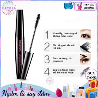 HATOLA - Mascara Dài Mi và Cong Mi Images Super Light Waterproof Chuốt Mi Đen Không Lem Không Trôi 8g MASCARA-IMA thumbnail