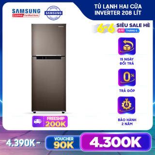 Tủ lạnh Samsung Inverter 208 lít RT20HAR8DDX/SV - REF