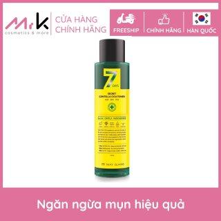 [Xả kho] Nước hoa hồng May Island 7days Secret Centella Cica Toner chính hãng Hàn Quốc, dành cho da mụn, giảm mụn ẩn 155ml thumbnail