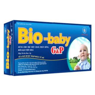Bio-Baby G&P - Hỗ trợ tăng cường tiêu hóa và hấp thụ chất dinh dưỡng thumbnail