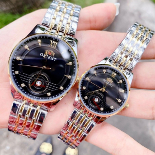 Đồng hồ đôi nam nữ chống nước, Đồng hồ nam dây kim loại 0RENT OR2 Size 40mm,Đồng hồ nữ dây kim loại 0RENT OR2 Size 30mm fullbox - Đồng hồ nam thể thao - Đồng hồ đôi nam nữ cao cấp,Kiwi xanh thumbnail