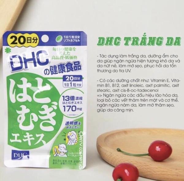 Viên uống dưỡng trắng da DHC COIX Nhật Bản ( gói 20 viên 20 ngày)
