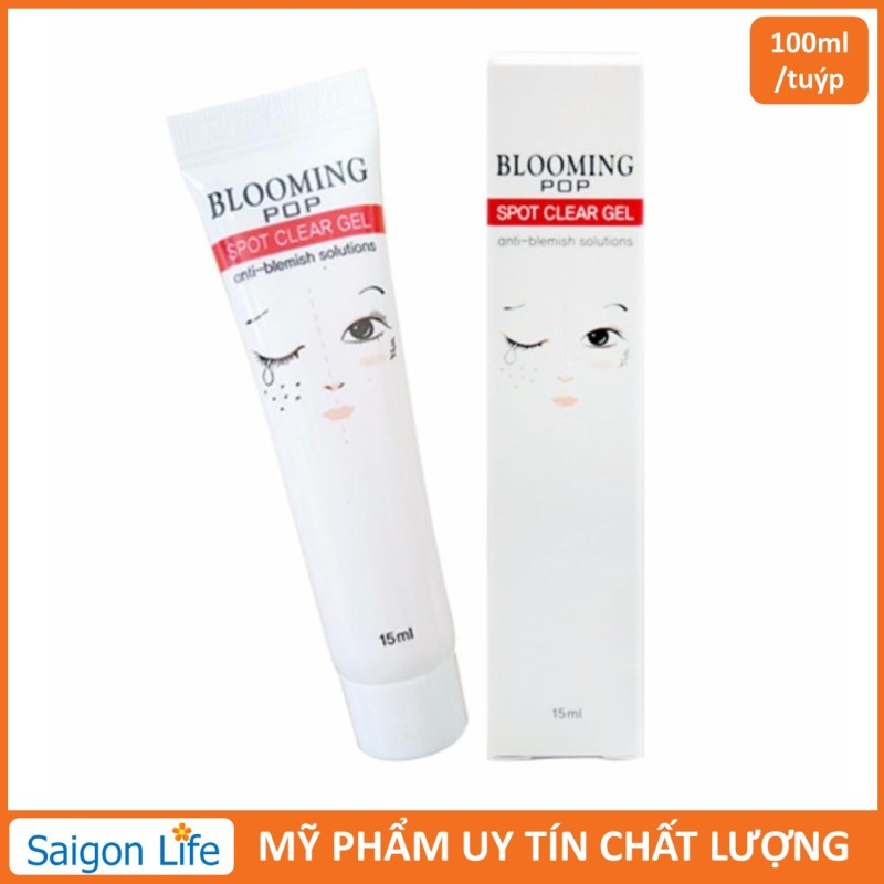 [HOT] Gel ngừa mụn giảm thâm Blooming Pop Spot Clear Gel 15ml