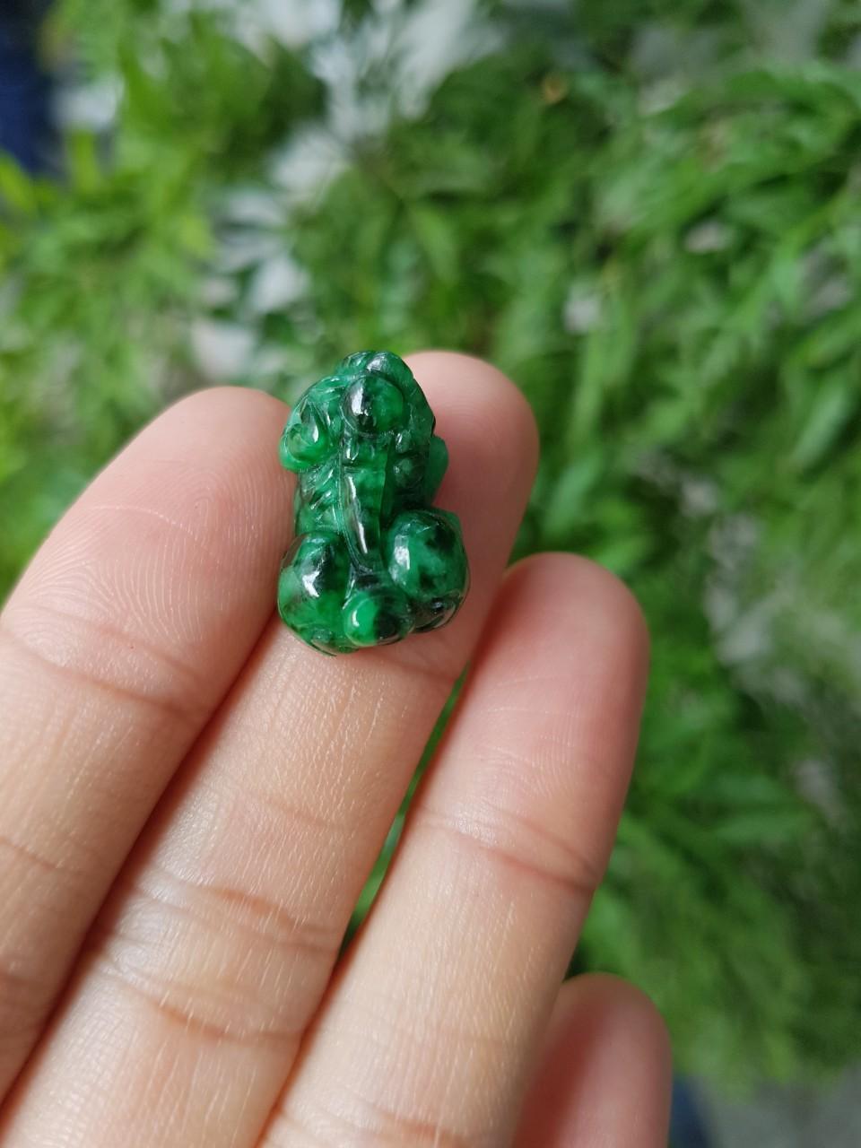 Tỳ hưu ngọc sơn thủy, size nhẫn - xưởng buôn đá phong thủy Huỳnh Đào