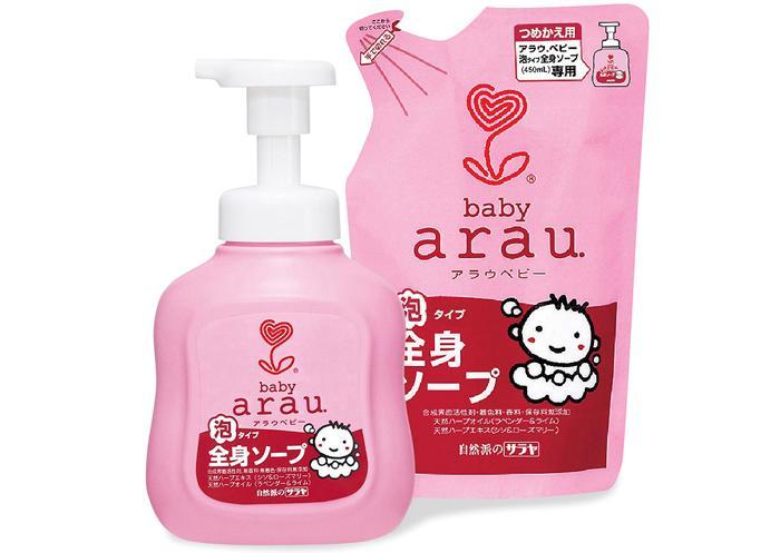 Không Nên Bỏ Lỡ Giá Sốc với Combo Sữa Tắm Gội Toàn Thân Arau Baby 450ml (Mua Chai Tặng Túi)
