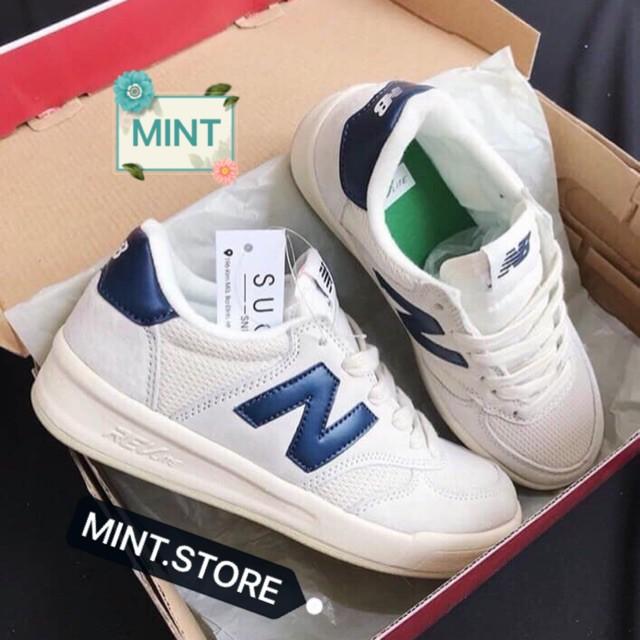[Lấy mã giảm thêm 30%]Giày Thể Thao Sneaker Nb Gót Xanh Than