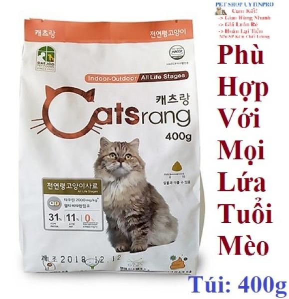 THỨC ĂN HẠT CHO MÈO Catsrang Túi 400g Nhập khẩu Hàn Quốc