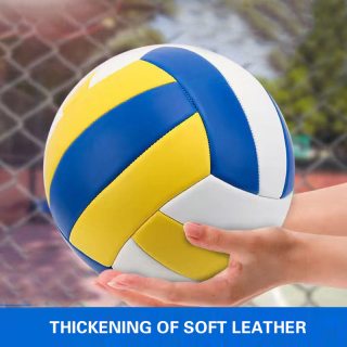 Super Soft No.5 Volleyball - Waterproof Indoor Outdoor Official Volleyball for Pool Game Workout Training Beach Play thumbnail