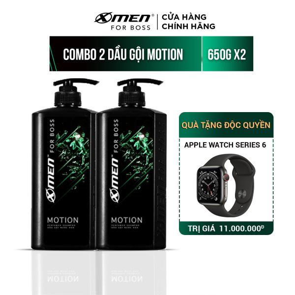 Combo 2 Dầu Gội X-Men For Boss 650g - Hương Motion cao cấp