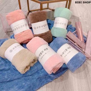 khăn mặt lông cừu Hàn Quốc mềm mịn xịn 60x29 cm - BIBI shop-KM thumbnail