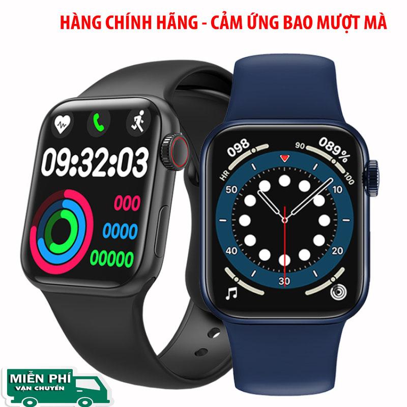 [ HÀNG CHÍNH HÃNG ] Đồng Hồ Thông Minh Apple Watch Series 6 HW12  - Màn Hình Tràn Viền, Nghe Gọi Trực Tiếp, Thay Được Dây, Nút Xoay Digital Crown, Chống Nước, Tiếng Việt 100%, Nhận Thông Báo App,Màn Hình Tràn Viền 1.57inh, Bh 2 năm