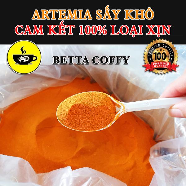 Artemia Sấy Khô Dạng Bột Cho Cá  BETTA COFFY ☕️