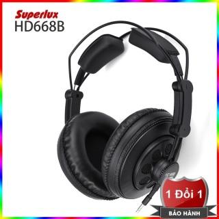 Tai nghe kiểm âm Superlux HD668B cao cấp (Đen) thumbnail