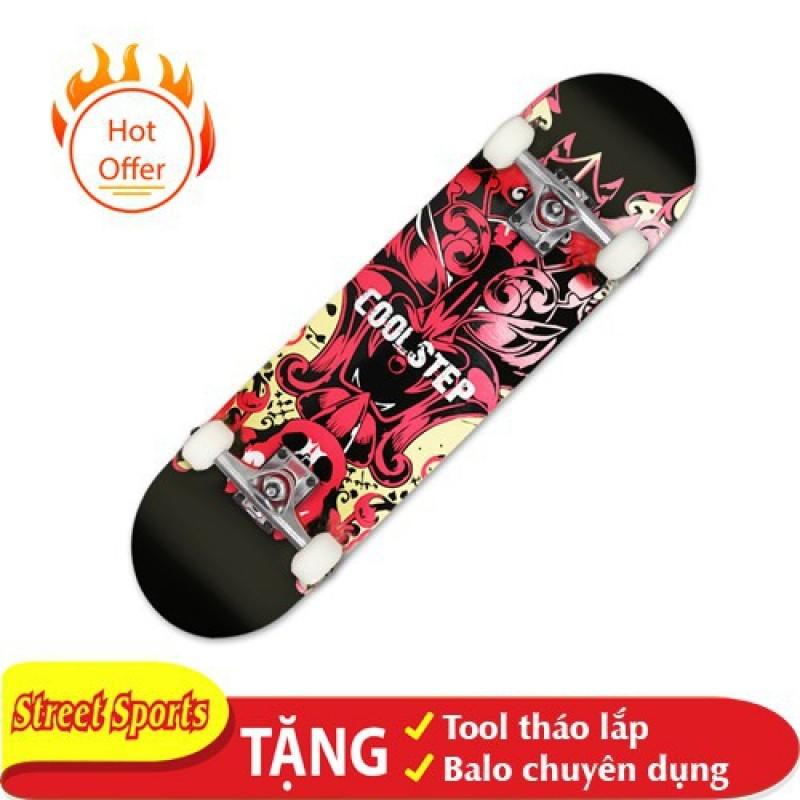 Giá bán Ván Trượt Skate Supereme 1200-14 Tăng Kèm Tool + Túi Đựng Ván