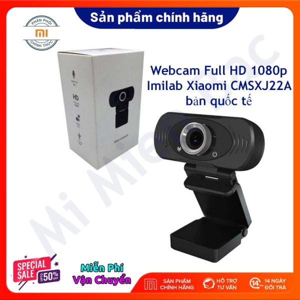 Bảng giá [CHÍNH HÃNG] Webcam Xiaomi Imilab CMSXJ22A Full HD 1080p, Cổng USB Cho Máy Tính, Có Míc Lấy Nét Tự Động, Ống Kính Góc Rộng, Cắm Là Chạy, Tương Thích Đa Nền Tảng – Bản Quốc Tế - Chính Hãng Xiaomi - Mi Miền Bắc Phong Vũ