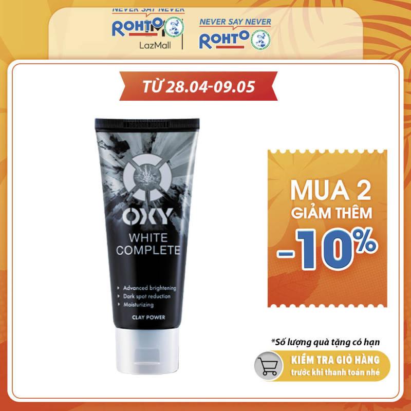 Kem rửa mặt tút sáng từ đất sét trắng OXY White Complete 100g