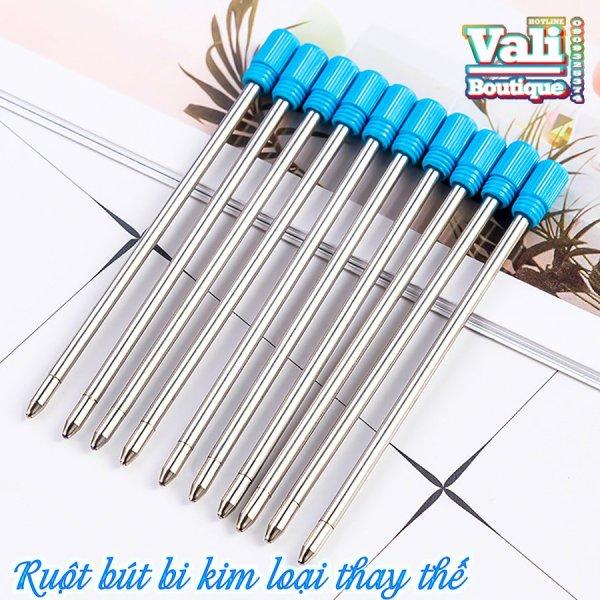 Mua Combo 10 Ruột bút ký Bi kim loại 70mm ngòi 1.0mm thay thế - Ruột bút bi kim loại thay thế