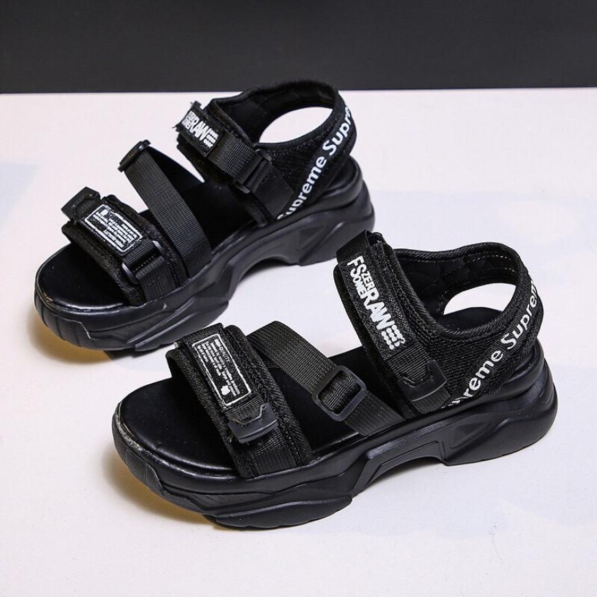 Giày sandal quai hậu 2 màu cực xinh và êm chân ( SD RAW) giá rẻ