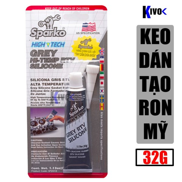 KEO XÁM DÁN RON SPARKO ALPHA 32g - 85g