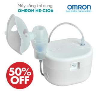 [CHÍNH HÃNG] Máy xông khí OMRON, Máy xông khí dung nén khí Trị liệu hô hấp Chăm sóc tại nhà OMRON NE-C106 - Máy xông khí dung Omron NE-C106 máy xông mũi họng dành cho gia đình thumbnail