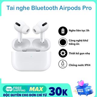 Tai AIPODS PRO với các chức năng giống như 1 chiếc airpod pro chính hãng, Hỗ Trợ đổi tên , GPS Vị trí , Mở nắp và lấy tai nghe ra để kết nối( Cửa sổ bật lên ) ,Điều khiển cảm biến thông minh âm thanh nge cực sướng thumbnail