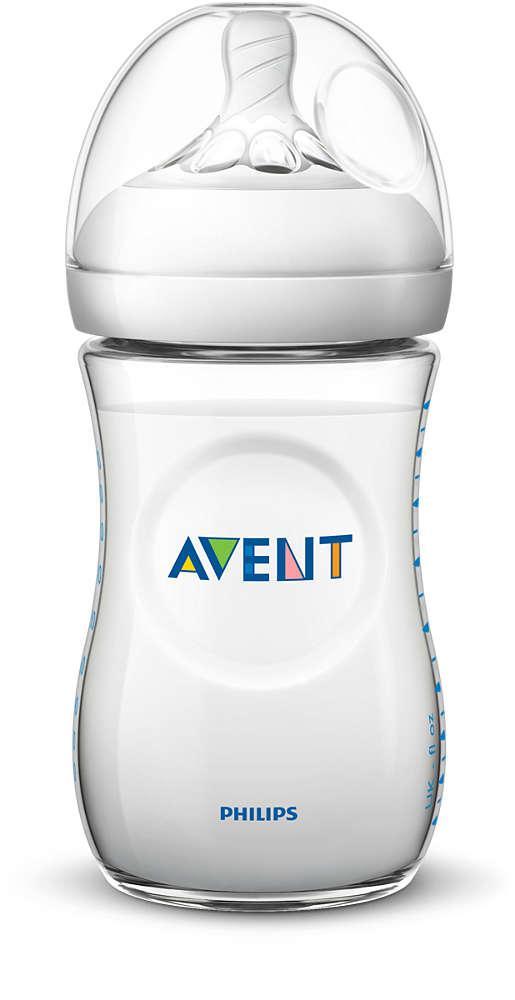 Bình sữa Philips AVENT Natural 260ml - Núm số 2