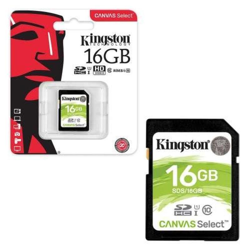 Thẻ nhớ kingston 16GB SDHC SD 16GB