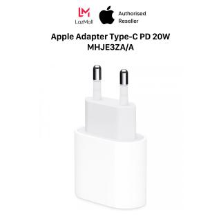 Củ sạc Adapter 1 Cổng USB Type-C 20W Apple - Hàng Chính Hãng - MHJE3ZA A thumbnail