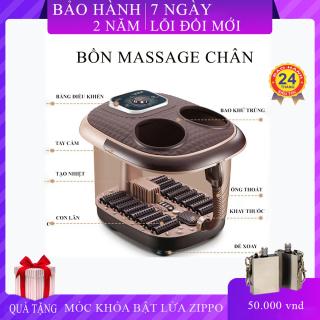 Bồn ngâm chân massage , an toàn và tiện lợi, tự động làm nóng nước, con lăn massage giúp giải tỏa căng thẳng, thư giãn tinh thần là món quà sức khỏe tặng người thân và gia đình. thumbnail